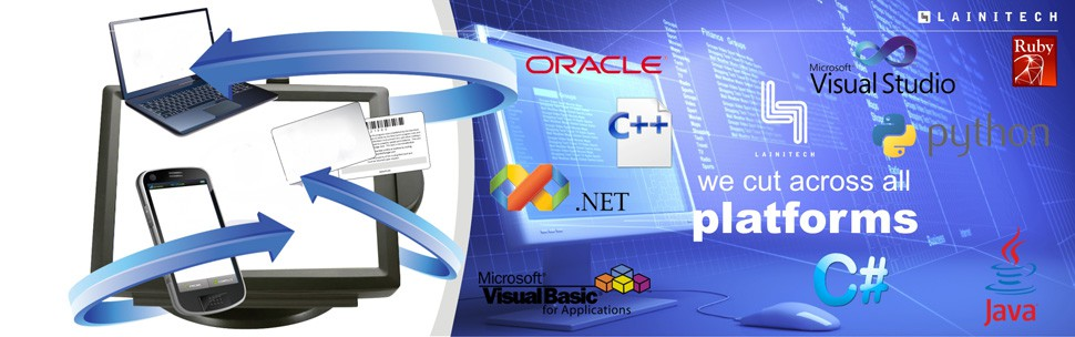 __________________________________________________Customizable Software with full integration to Common Database Systems